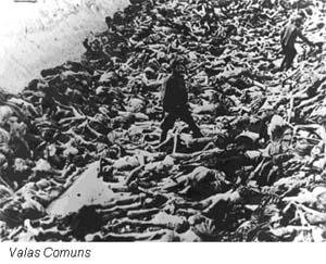 Valas comuns do Comunismo. Massacres promovidos por Stalin levaram à morte milhões de pessoas.