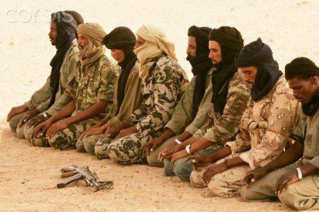 combatentes tuaregues do MNLA