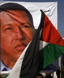 Chavez+and+Palestine+flag+2012