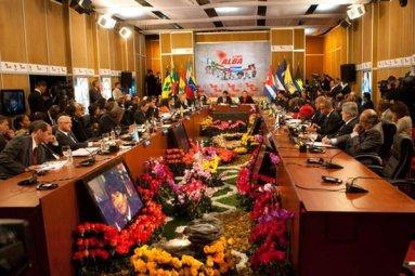 Abertura da XI Cúpula da Alba em Caracas, Venezuela