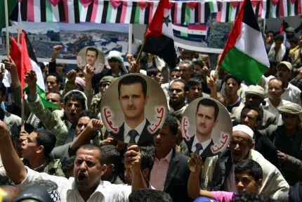 Crescem as manifestações de apoio ao presidente Bashar al-Assad, que apesar das enormes dificuldades reconhecidas por todos para uma eleição em um país em guerra, manteve firme o compromisso de realizar as primeiras eleições presidenciais multipartidárias da Síria, marcadas para o próximo dia 3 de junho.