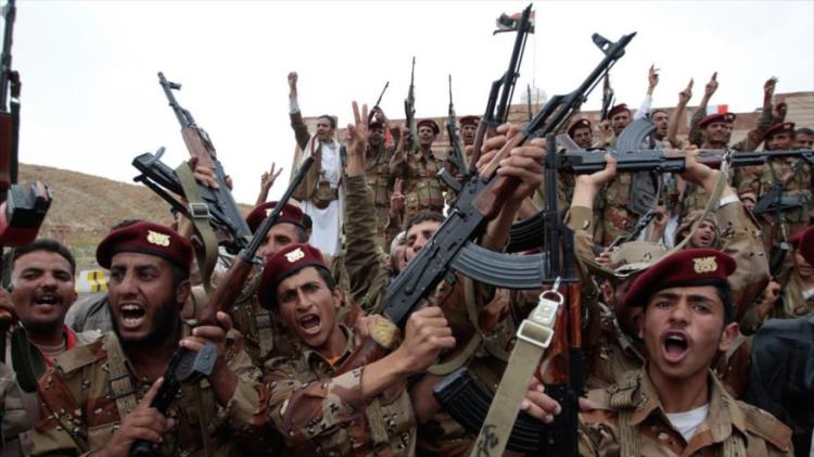 Soldados do Exército iemenita